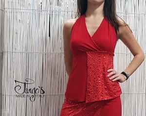 Completo Dior Rosso