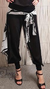 Pantaloni Erika Bianco e Nero
