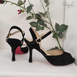 Dafne Nero Tacco 8,5cm