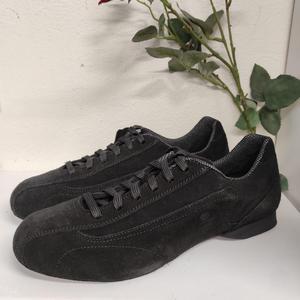 Sneakers Schizzo® Camoscio Nero